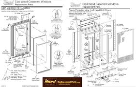 gallery for u003e casement window diagram wood double hung window