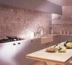 zellige de cuisine cuisine baden concept crédence de zelliges blancs terracotta