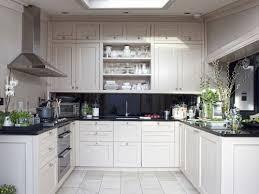 black glass backsplash kitchen black and white kitchen design ideas