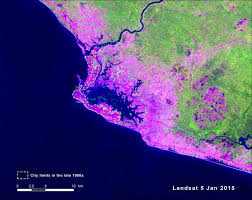 Liberia Africa Map by Urban Growth In Liberia U0027s Only Metropolis Monrovia West Africa