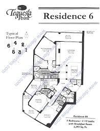 three tequesta point condo floor plans