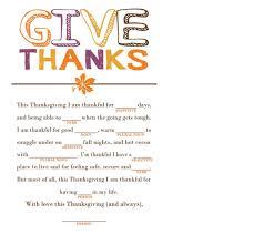 Thanksgiving Madlib General Thisiswhatyoushalldo