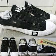 Harga Sepatu Converse X Undefeated jual sepatu converse x undefeated denim transparent sole cheap
