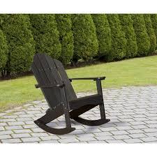 Recycled Plastic Rocking Chairs Wildridge Outdoor Adirondack Rocking Chair Rocking Furniture