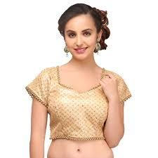 golden blouse buy unstitched blouse trendy designer saree blouses
