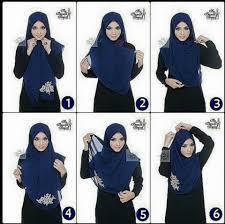 simple hijab styles tutorial segi empat easy hijab fashion step by step ideas 2018