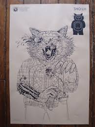 target hours mo fenton black friday the blot says the walking dead shooting target prints