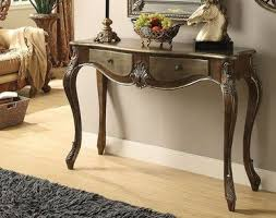 queen anne entry table kelsey bronze taupe console table console tables consoles and