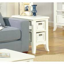 furniture wedge chairside table side table for recliner