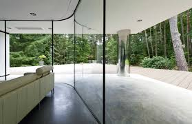 floor to ceiling windows treatment ideas with natural nuances