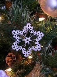 try this free tatting pattern for a bell ornament find