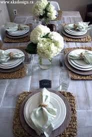 dining room table setting ideas casual kitchen table settings lovely best 25 country table