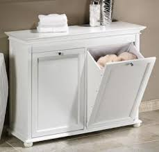 Bathroom Laundry Storage Bathroom Wood Laundry Her In White Great Way To Manage The