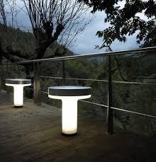 urban bollard light contemporary aluminum polyethylene