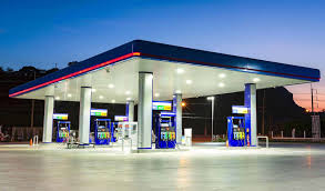 led gas station light led canopy lights superior lighting for your gas station