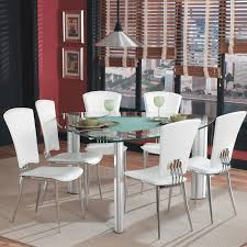 triangle dining table tempered glass top dining table with frosted