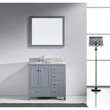 Virtu USA Caroline Avenue Inch Singlesink Bathroom Vanity Set - Virtu usa caroline 36 inch single sink bathroom vanity set