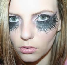 fallen angel look makeup pinterest halloween ideas