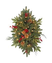 wreath lights lighted outdoor wreaths with