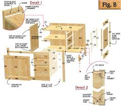 how to build kitchen cabinets free plans pdf hoosier cabinet plans llc