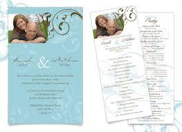 wedding invitation program nathan s simple weddingtruly engaging wedding