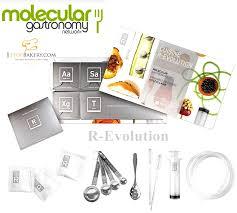 cuisines en kit molecular cuisine r evolution gastronomy kit 55 g ช ดทำโมเลก ล