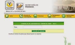 pago de tenencia 2014 df tenencia df 2015 consulta adeudo en linea gratis tenencia mexico