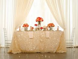 wedding table covers wedding wednesday a glittering occasion peony events peony events