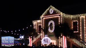 eve drop christmas lights new years eve onion drop in bermuda december 31 2015 youtube