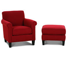 Accent Chair And Ottoman Wonderful Accent Chairs With Ottoman Mcguire K801 Accent Chair
