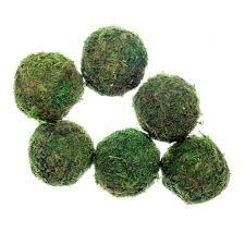 Moss Vase Filler Moss Ball Decor