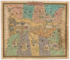 A United States Map by How A Mapmaker Who Rejects Cartography Can Help You Find Yourself