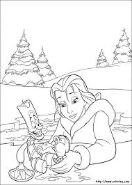28 beauty beast coloring book images