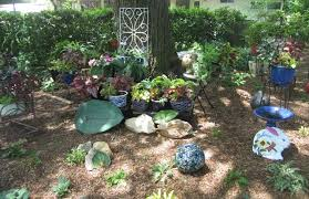 Ceramic Garden Spheres The Annandale Blog Home And Garden Tour Offers Peek Inside