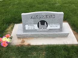 cemetery headstone index a