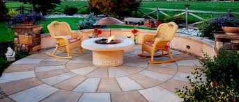 Paver Patio Kits Circular Patio Kits Curved Walkways Earthstone Products