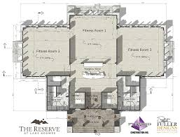 fitness floor plan the reserve at lake keowee begins construction on new fitness