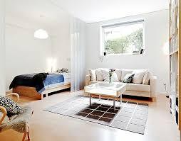 wohn schlafzimmer einrichten einzimmerwohnung einrichten tolle und praktische
