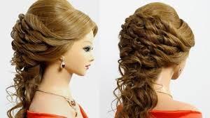 hairstyles youtube hairstyles for medium long hair bridal wedding hairstyles makeup