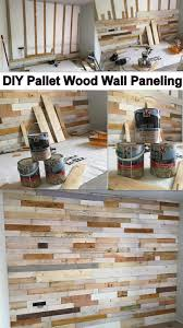 Wood Wall Ideas Diy Pallet Wood Wall Paneling Pallet Ideas Recycled Upcycled