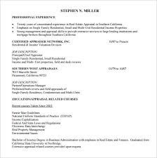 Resume For Real Estate Job by Sample Real Estate Resume 14 Download Free Documents In Pdf Word