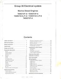 workshop manual electrical system group 30 documents