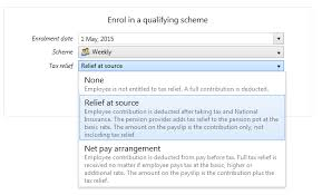 employee tax relief brightpay documentation