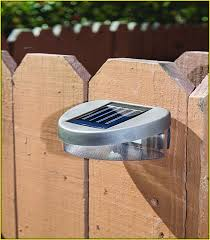 Solar Lights Fence - solar lights for fence panels home design ideas