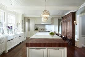 range in island kitchen minneapolis butcher block peninsula kitchen traditional with