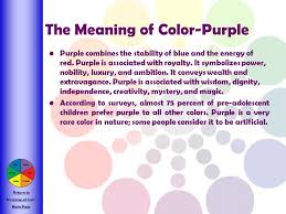 purple color meaning an introduction to the color wheel and color theory ppt download