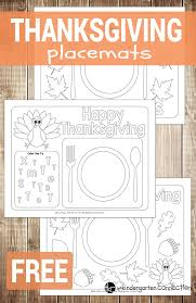 25 thanksgiving placemats ideas