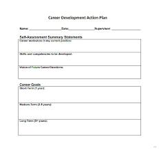 career development plans career development plan template action splendid photos job