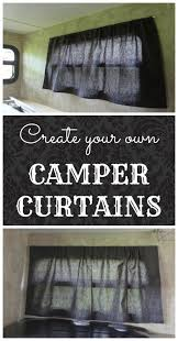 Design Your Own Motorhome Make Your Own Camper Window Curtains Window Curtains Window And Rv