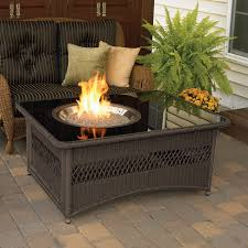 Outdoor Propane Firepit Gas Pit Tables Costco Chat Set Outdoor Propane Table